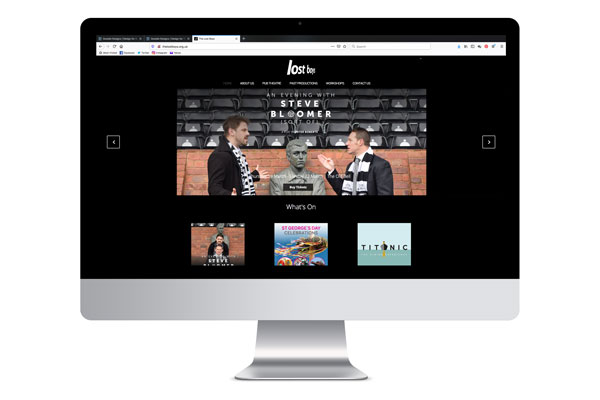 Design for Business The Lost Boys Website Design