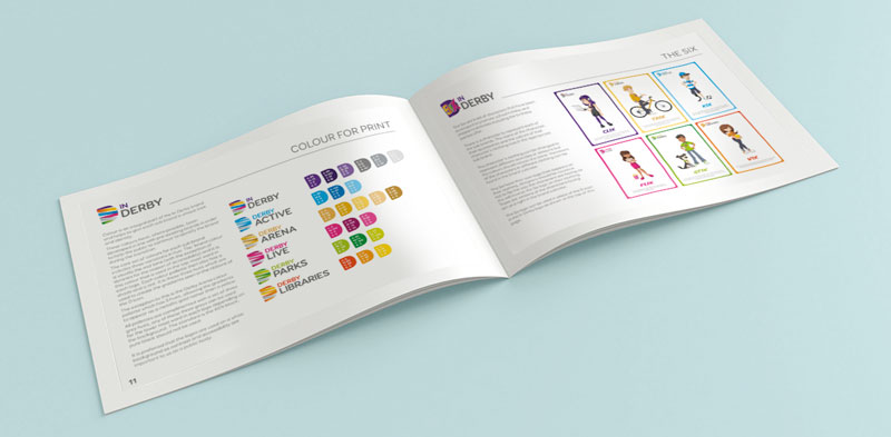 design for business brand guidelines document
