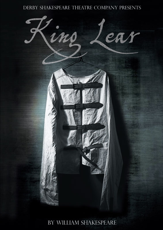 Theatre and Event poster and flyer marketing promotional image design for King Lear