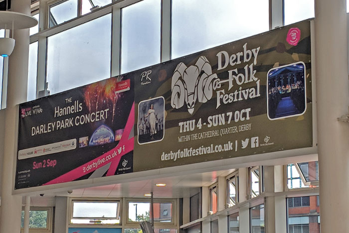 Theatre and Event promotional vinyl banners